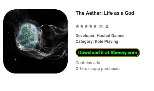 The Aether: Life as a God Full Version Unlocked MOD APK