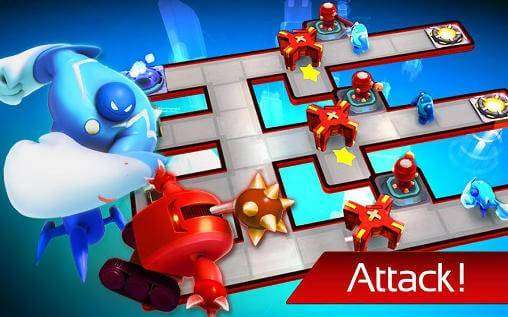 The Bot Squad: Puzzle Battles APK Android Game Free Download