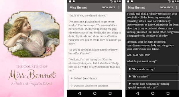 The Courting of Miss Bennet Full Version Unlcoked MOD APK