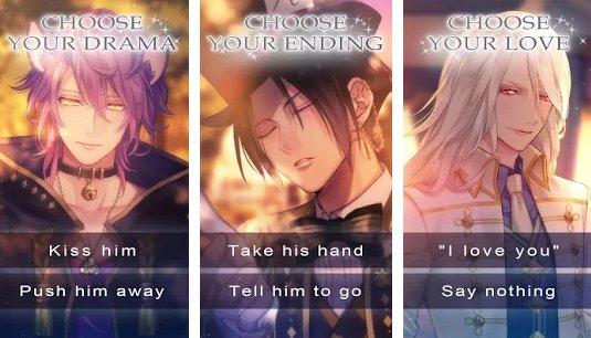el destino del país de las maravillas romance juego otome APK Android