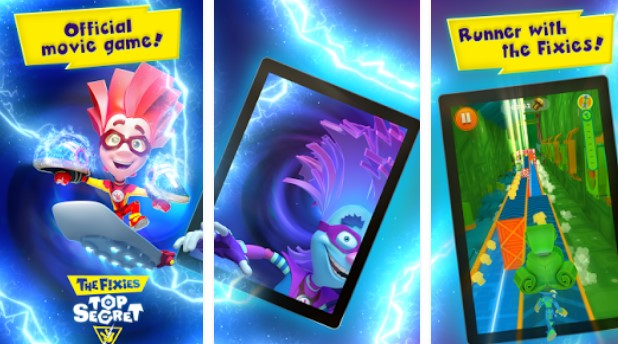 die Fixies Top Secret Kinder Läufer Spiele APK Android