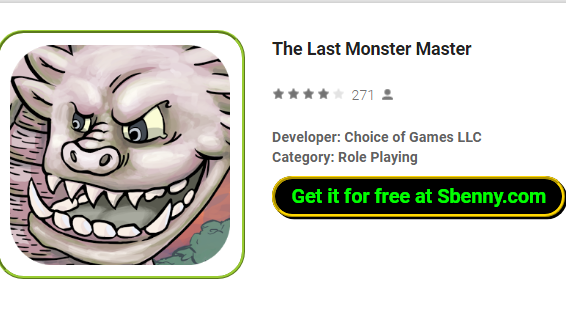 The Last Monster Master MOD APK for Android Free Download