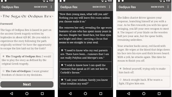 сага о эдип рекс APK Android