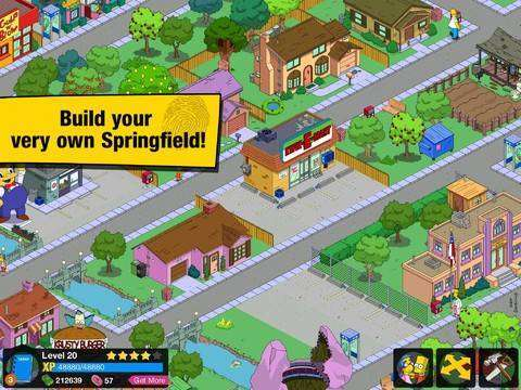 Free Download The Simpsons: Tapped Out APK + MOD