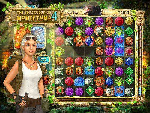 The Treasures of Montezuma 4 Full APK Android Free Download