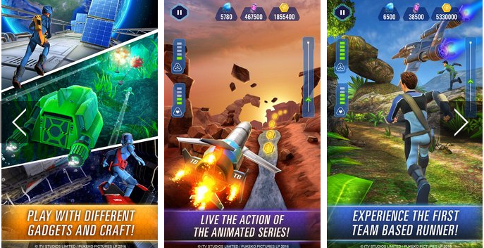 thunderbirds are go team rush APK Android