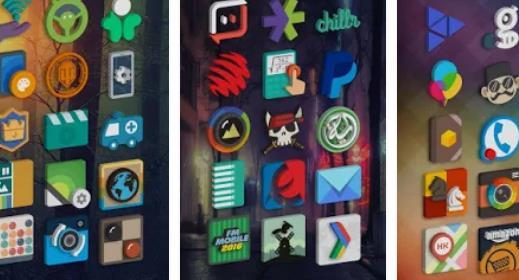 Pacote de ícones do tigad pro APK ANdroid