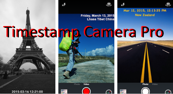 Timestamp Camera Pro MOD APK for Android Free Download