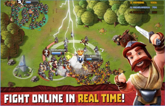 tiny armies online battles APK Android