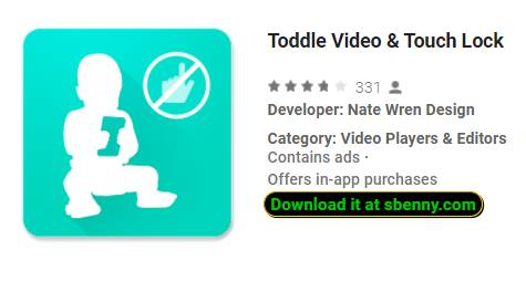 toddle video and touch lock