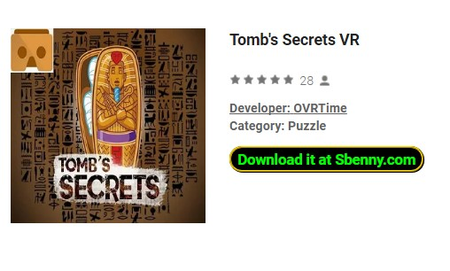 Tomb's Secrets VR Paid APK Android Free Download