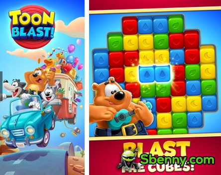 Toon Blast Unlimited Lives & Coins MOD APK Free Download