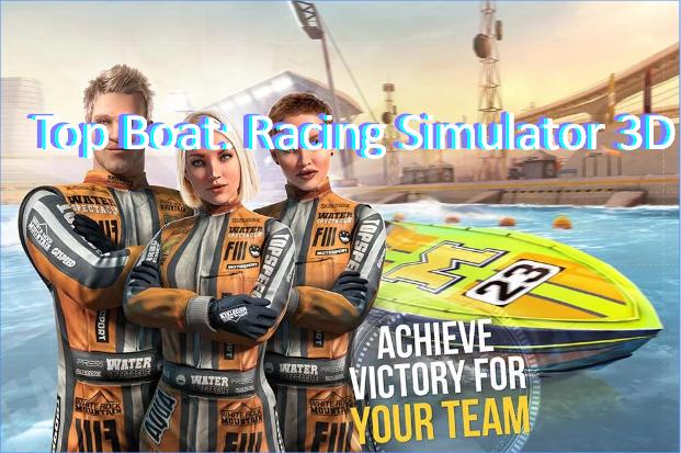 Top Boat Racing Simulator Unlimited Money 3d Mod Apk