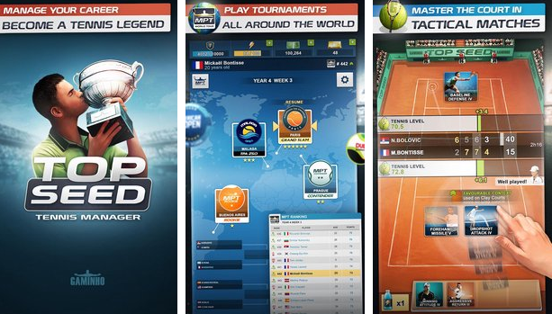 TOP SEED Tennis Manager Unlimited Money MOD APK Download