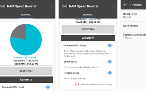 total ram speed booster APK Android