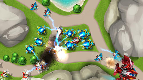 Android game app tower defense alien war td 2 free download.