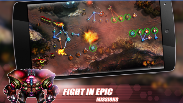 invasion de tower defense APK Android
