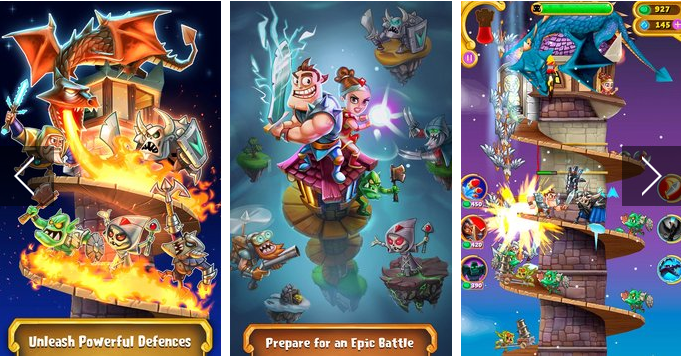 tower knights APK Android