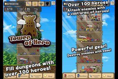 Tower of Hero MOD APK Android Game Free Download