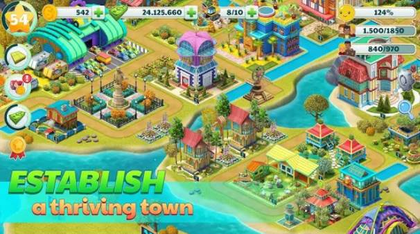 città del villaggio di città sim gioco sim paradise 4 u APK Android