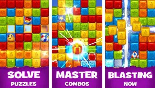 Spielzeug und Toons Drop Blast und Match Spielzeugwürfel Spiele APK Android