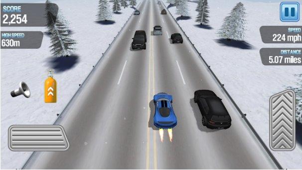 Traffic Racing wie schnell kannst du APK Android fahren