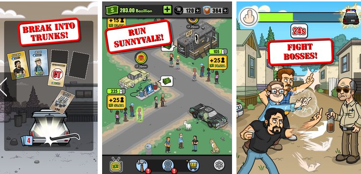 trailer park boys greasy money APK Android