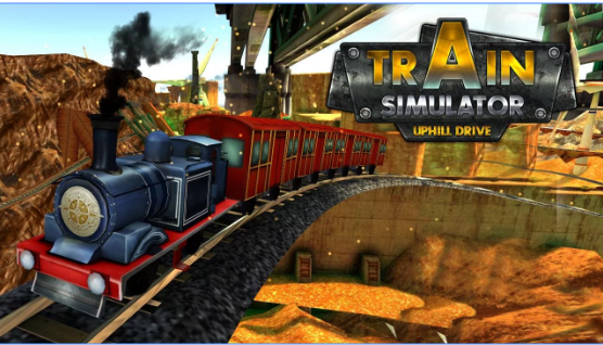 Train Simulator Uphill Drive MOD APK Android Free Download