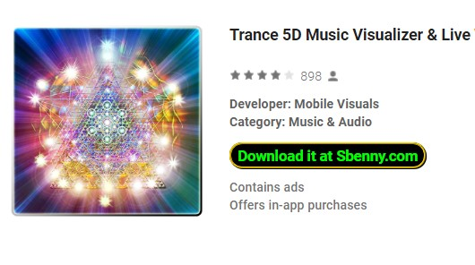 Trance 5D Music Visualizer Premium Purchase Unlocked MOD APK