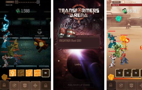 transformers arena rpg heroes