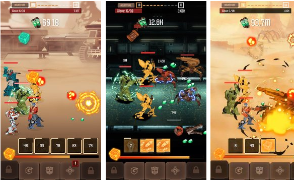 Transformers Arena rpg Heroes APK Android