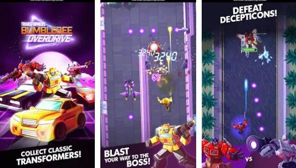 Transformers Bumblebee Overdrive Infinite Resources MOD APK