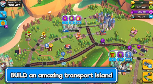 transit king tycoon transport empire builder APK Android