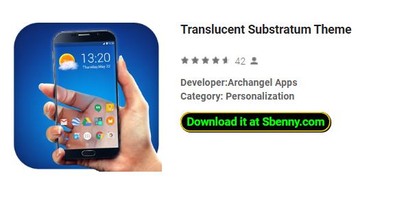 Translucent Substratum Theme APK Android Download