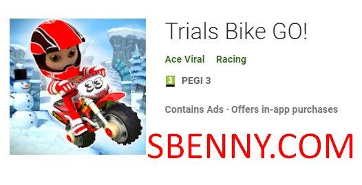 Trial Fahrrad fahren