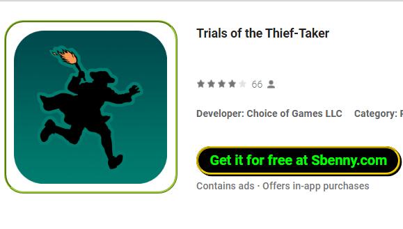 Prove del ladro Taker