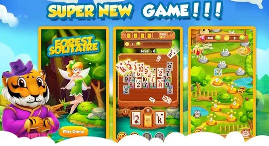 Tripeaks Solitaire Waldfee APK Android