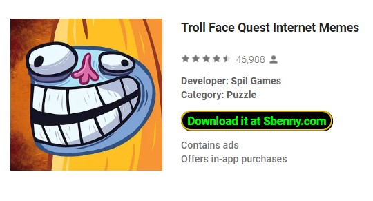 Troll face quest internet memes: vip mod: download apk apk.