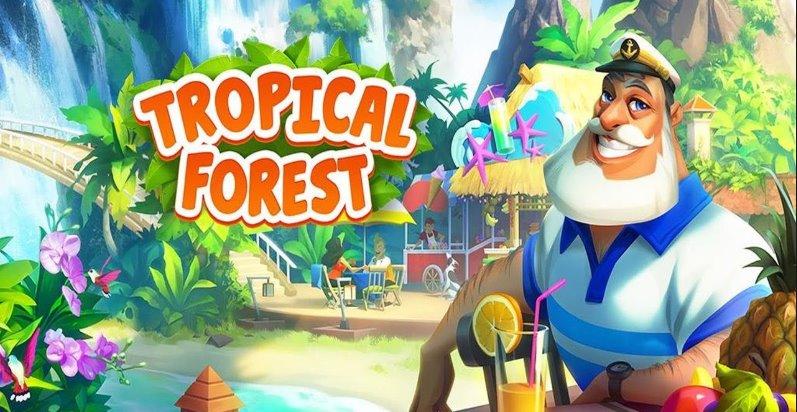 foresta tropicale abbinare la storia di 3
