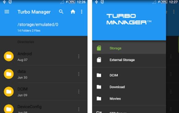 gerente de turbo 2018 pro APK Android