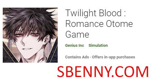 juego otome de romance de sangre crepuscular