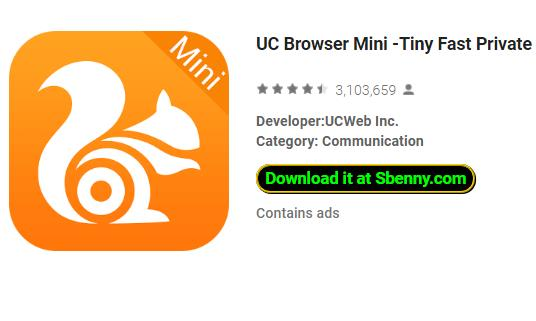 UC Browser Mini -Tiny Fast Private & Secure APK for Android