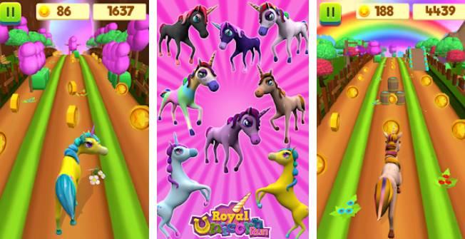 🎮 MOD APK - Unicorn Run - Fun Run Game v1 8 Unlimited Money