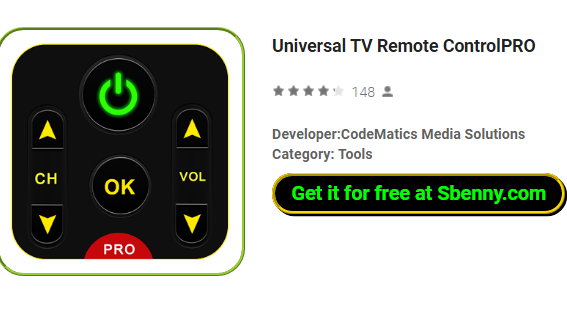 tv remote to download