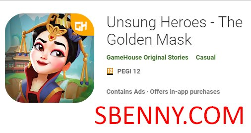 unsung heroes the golden mask