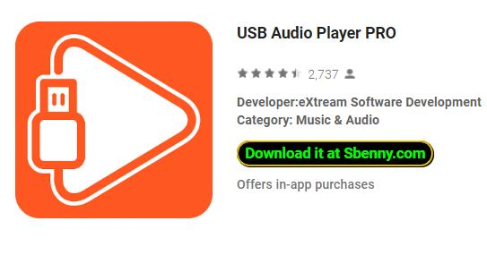 USB Audio Player PRO APK for Android Free Download