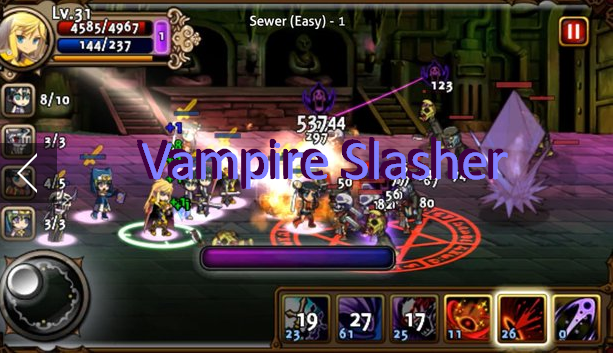Vampire Slasher MOD + APK Game for Android Free Download