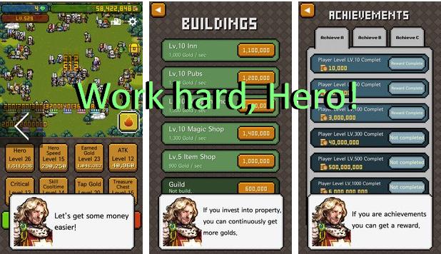Héroe trabajar duro!