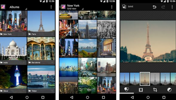 galerie verticale APK Android