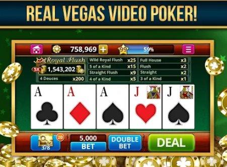vidéo poker hors ligne gratuit